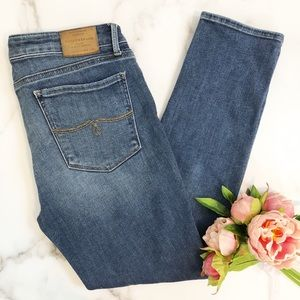 Lucky Brand Lolita cropped skinny jeans 30 / 10